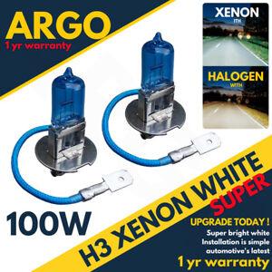 H3-100W-8500K-Xenon-HID-Super-White-Effect-453-Head-light-Fog-Light-Bulbs-12v