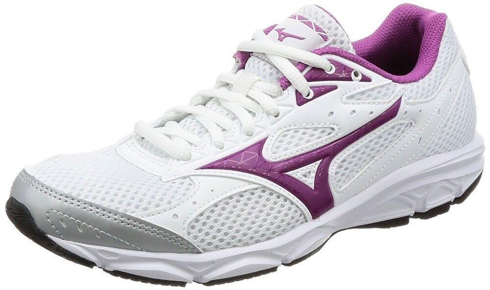 Mizuno Women Running shoes MAXIMIZER 20 K1GA1801 White × Purple Free shipping