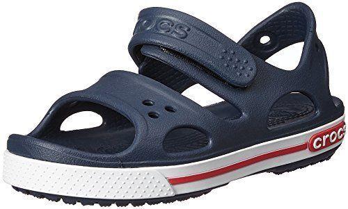 8153fa0f6687 Crocs Kids Crocband II Sandal Toddler little Kid big Kid Navy white 6 M US  for sale online