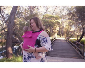 Electric-Pink-Solar-Integra-Baby-Carrier