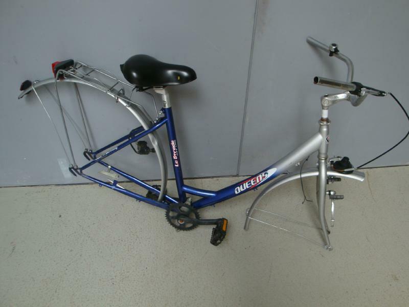 A018-816-01  Fahrrad Rahmen Baugruppe 28  Rahmen Queens La Strada City Line