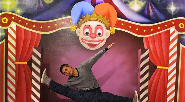 3D Die Bühne, der clown 1798 Fototapeten Wandbild Fototapete BildTapete Familie