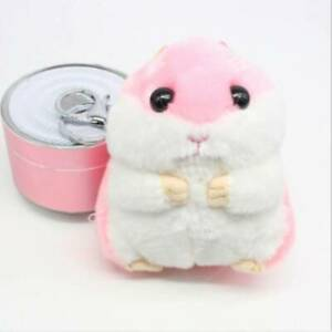Lovely-Soft-Plush-Hamster-Toy-Doll-Key-Chain-Keyring-Stuffed-Mouse-Bag-Toy-6A