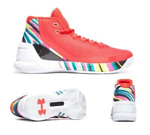 948396a081b1 2017 Under Armour UA Steph Curry 3 SZ 10 Chinese New Year CNY ...
