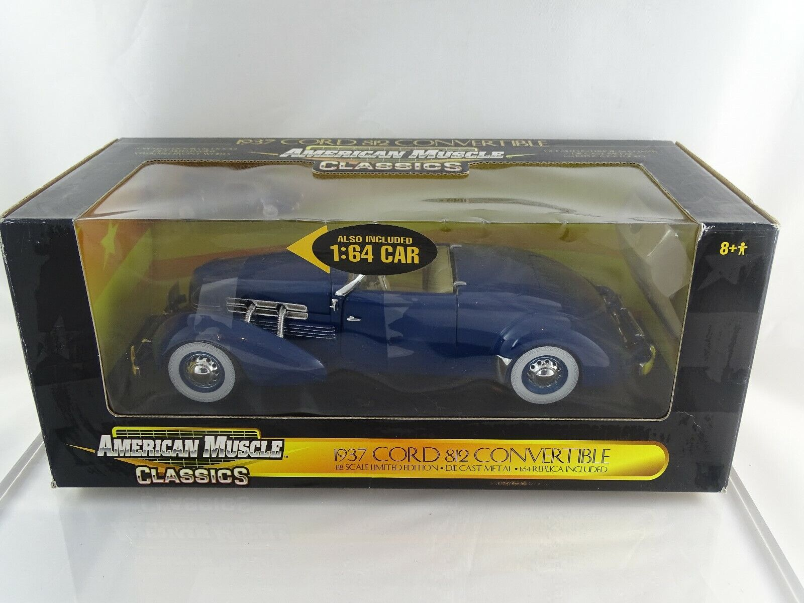 1 18 ERTL Cord 812 Congreenible + 1 63 car included Limited Editon