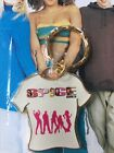SPICE GIRLS Official Merchandise -  T-Shirt Keyring - Sealed 1997