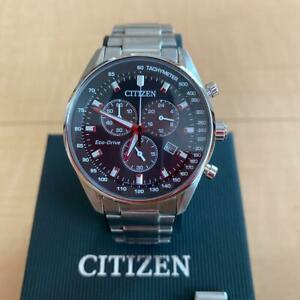 Citizen-Chronograph-Box-Date-Eco-Drive-Solar-Mens-Watch-Authentic-Working