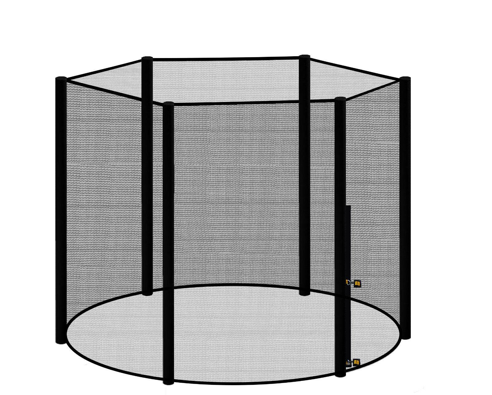 Trampolino rete di sicurezza 460 cm rete 4,60 M per 6 ASTE DI RICAMBIO PEZZO DI RICAMBIO RETE