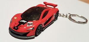 Hotwheels-McLaren-p1-Forza-KEYRING-automovil-de-fundicion