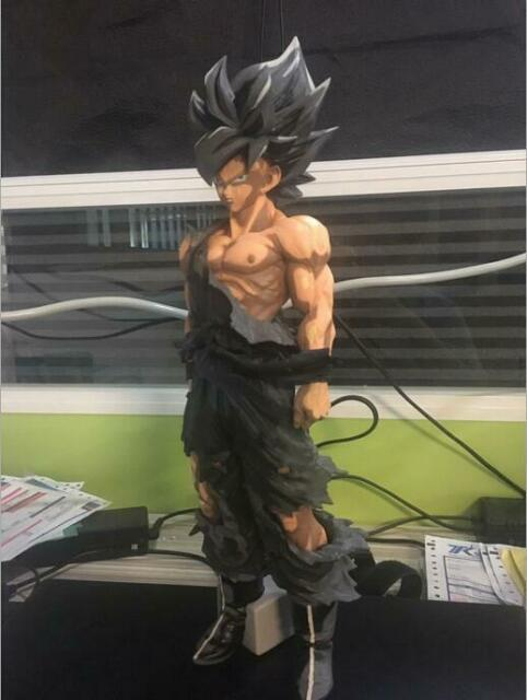 Toy Cartoon Anime Dragon Ball Z Super1 Saiyan Goku Statue PVC Figure Model Doll