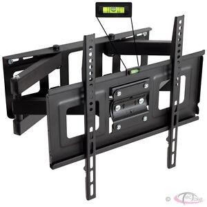 PLASMA-LCD-LED-3D-TV-TFT-WALL-BRACKET-MOUNT-TILT-AND-SWIVEL-VESA-400x400-32-034-55-034