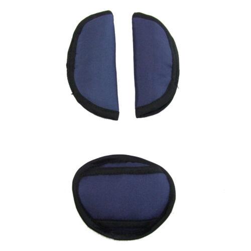 set cinturón acolchado /& paso acolchado capazo universal Bambiniwelt 3tlg