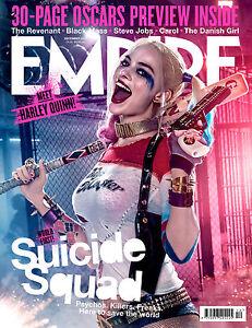 Details About Suicide Squad Empire Poster Jared Leto Deadshot Joker Harley Quinn Batman