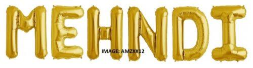 """UK selller Joyeux Hanoukka 16/"""" Gold /& Rosegold Lettre Ballon"""