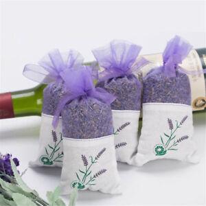 1-10X-Fragrant-Dried-Lavender-Flowers-Bag-Wardrobe-Sachets-Air-Fragrance-Drawer