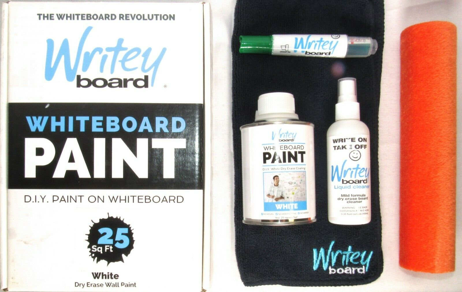 Writey Board 50 Sq Ft Whiteboard Paint Transparent Dry Erase Wall Paint For Sale Online Ebay