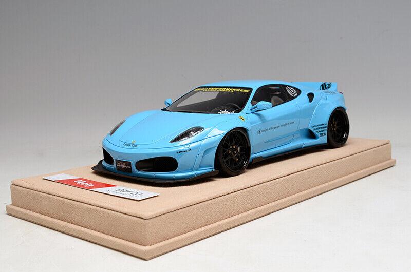 80% de descuento Liberty Walk lb lb lb rendimiento Ferrari F430 1 18 Bebé Azul no BBR señor LookSmart  forma única