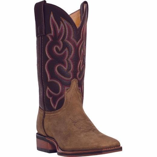 Nuevo Para hombres LArojoO LODI Taupe Choc 11  botas De Vaquero Vaquero Occidental 7898 aprobado