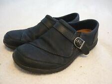 DASSIE Buckle Size 10 Black Leather