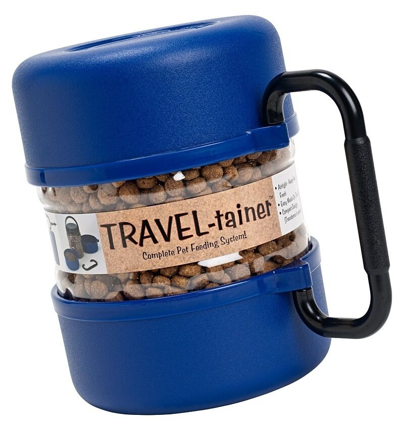 Pet Travel Bowl Dog Food Water Storage Portable Container