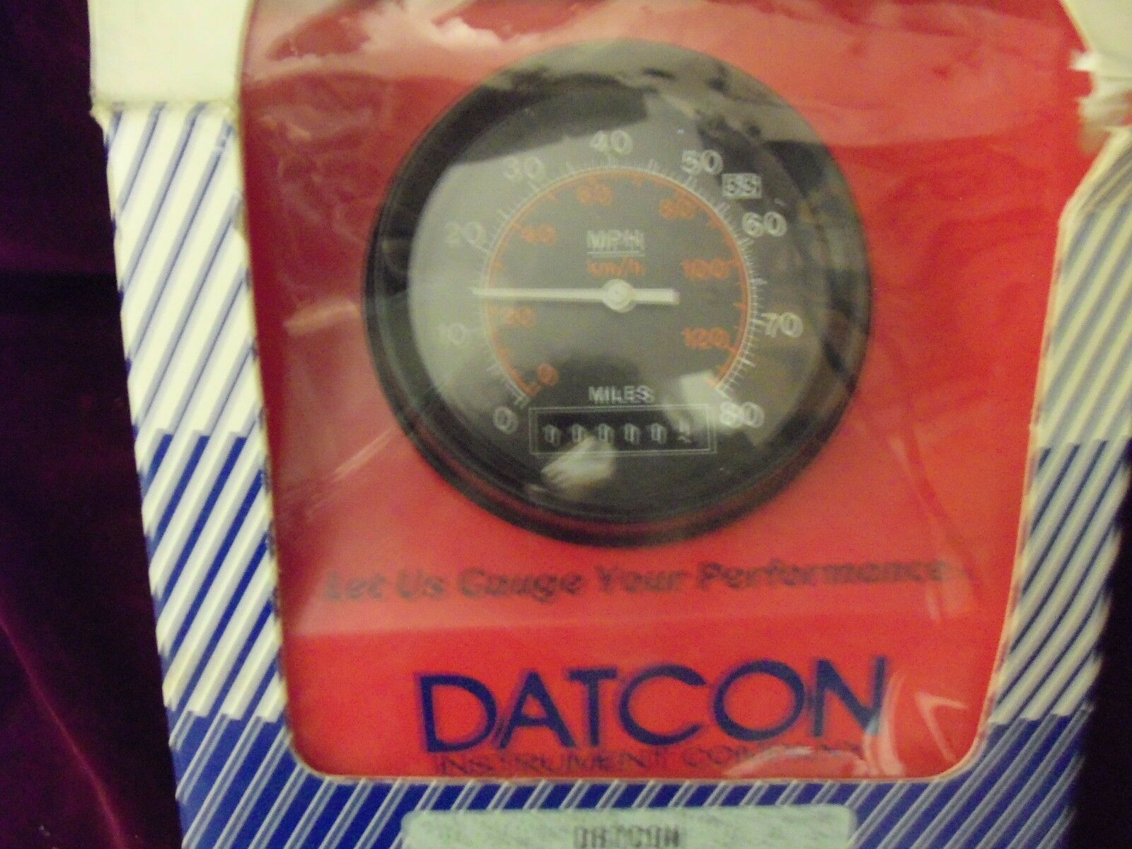 datcon speedometer odometer speedo 24 volt 71927 03 86 semi gauge  norton secured powered by verisign