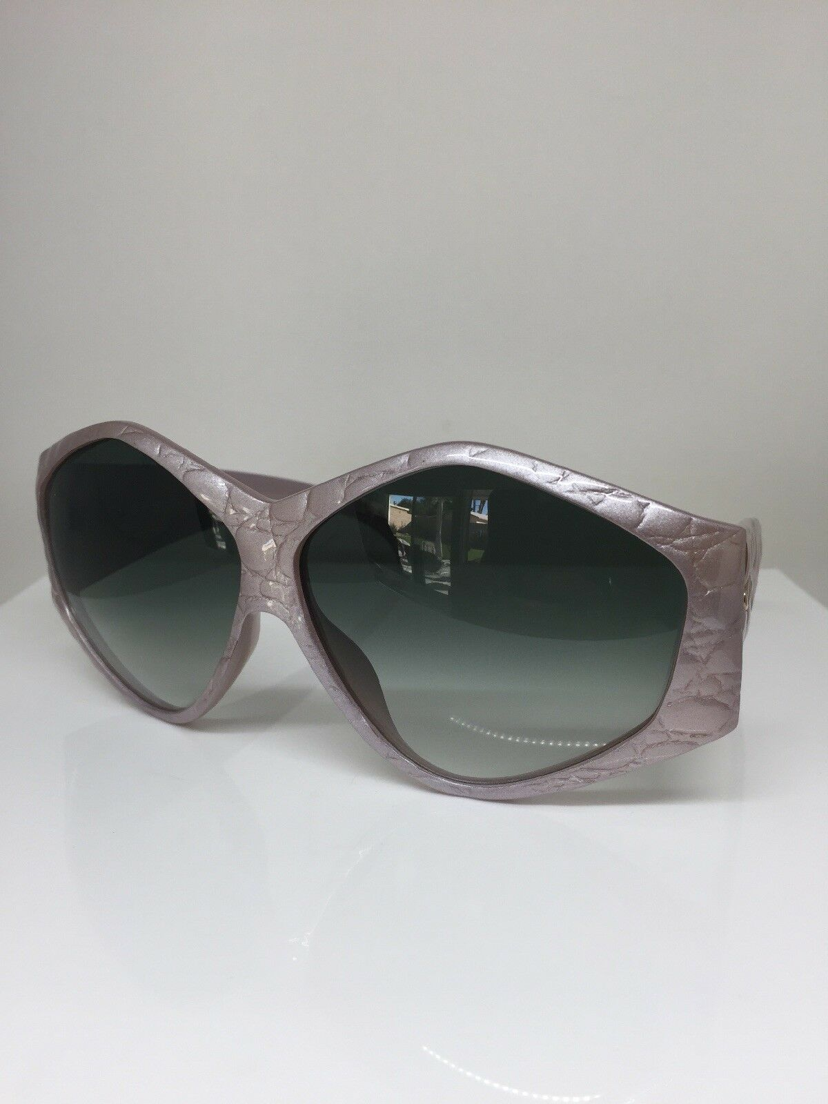 New Rare Vintage Christian Dior CD 2230 Sunglasses C. 32 Pink & Gold Germany NOS