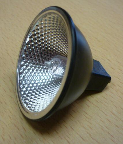 BLV Halogen Reflekto 105111 12V 50W FLOOD 39º BLACK Halogenlampe MR50 MR16 GX5.3