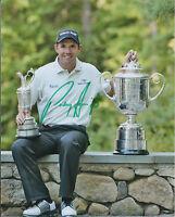 PADRAIG HARRINGTON SIGNED Autograph 10x8 Photo AFTAL COA US PGA Champion Golf
