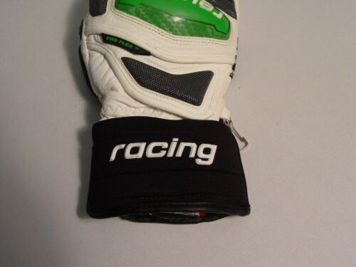 New Reusch All Leather RaceTec13 Giant Slalom Racing Ski Mittens Medium 4211411S