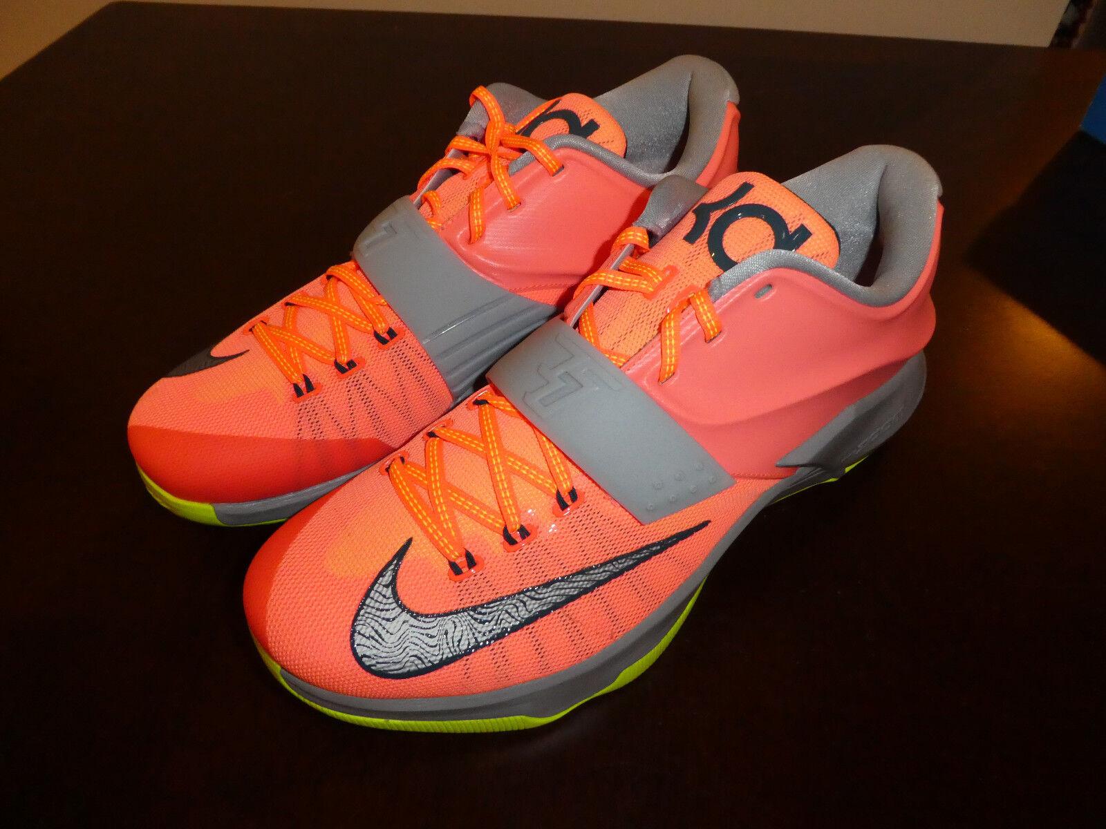 Nike kd vii schuhe neue turnschuhe größe größe größe 13 stil 653996 840 mango bdd8b2
