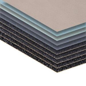 Schleifpapier wasserfest 210 mm x 110 mm Nass Schleif Papier Körnung Sand Papier