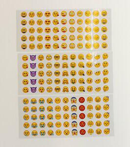 1-12-Smiley-Sticker-Emoji-Aufkleber-Kinder-Set-Gesicht-Smeili-Smeily-Geburtstag
