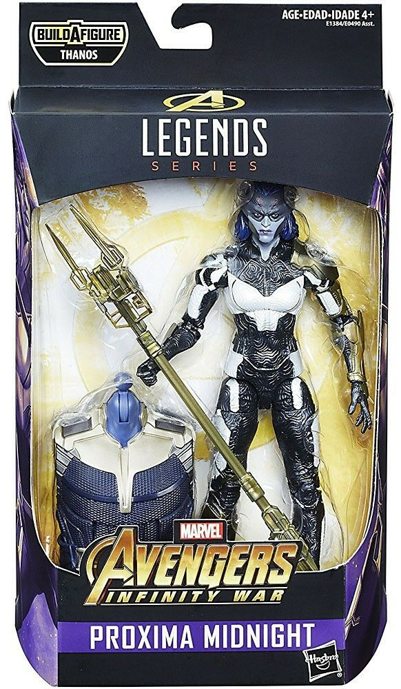 Marvel Legends Thanos Series Proxima Midnight Action Figure