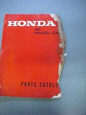 Honda CA200 Factory Parts Manual 90cc Touring -  Nov. 1966 - Used/ Rough edges