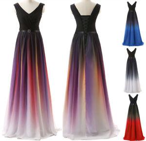 Ombre Party Dresses