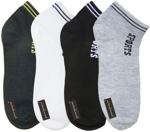 12 Paar Herren Sneaker Socken mit Baumwolle Kurzsocken in Gr Kurzschaft 40-43