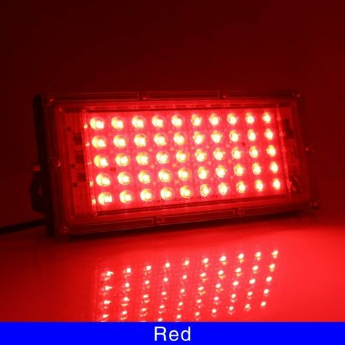 50W LED RGB Flood Light Lamp AC 220V 230V 240V Outdoor Floodlight IP65