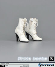 "1/6 Scale Women Ankle Boots For 12"" Hot Toys Phicen Kumik Female Figure"