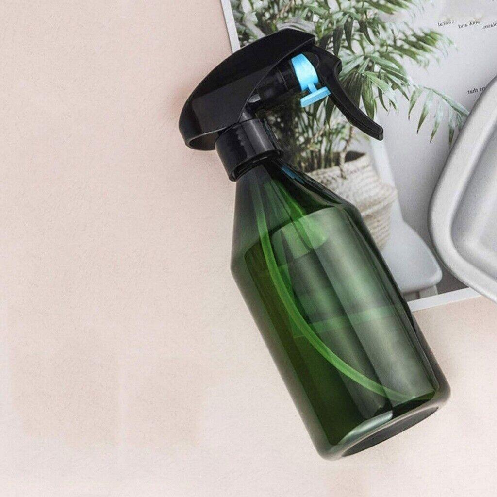 300ml Plant Mister Spray Bottle Fine Mist Water Sprayer Empty with Trigger Green