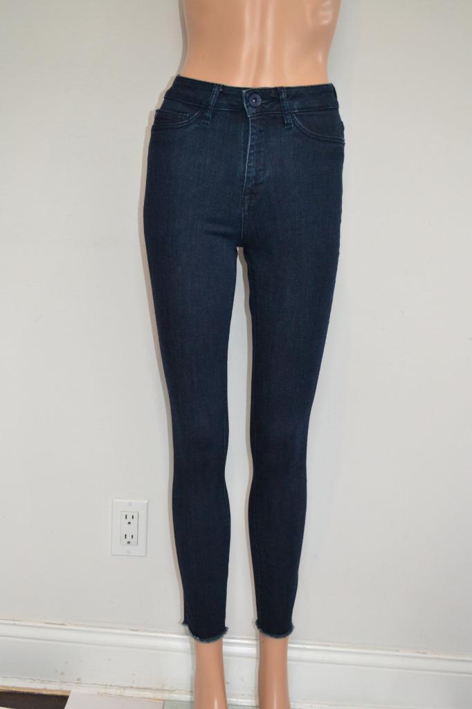 DL 1961  'Sunrise' 'No. 2 Trimtone Skinny Ankle' Jeans Pants, Sz 24