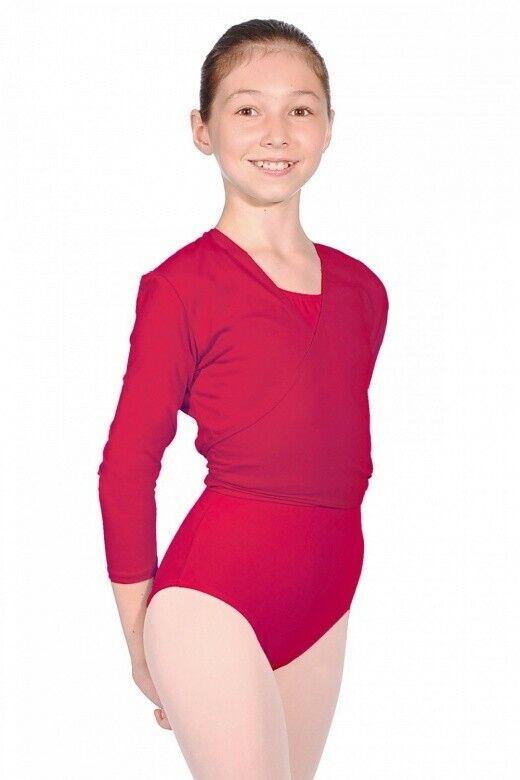 Cotton Lycra Ballet Wrap Size 3a (age 11-12)