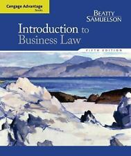 Cengage Advantage Books: Introduction to Business Law by Jeffrey F. Beatty...