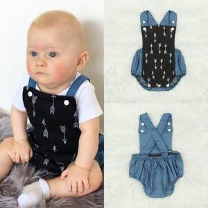 Newborn-Baby-Boys-Girls-Romper-Bodysuit-Jumpsuit-Outfits-Cotton-Sunsuit-Clothes