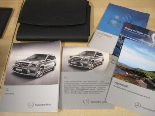 MERCEDES CLASSE GL Proprietari Manuale Manuale 2012-2017 BENZINA DIESEL Inc Digital CD