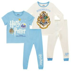 05c5400b28 Image is loading Harry-Potter-Pyjamas-Girls-Hogwarts-PJs-2-Pack-