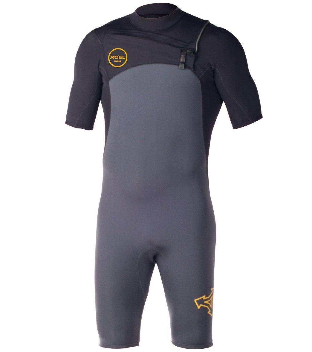 XCEL Men's 2mm INFINITI COMP CZ S S Spring Suit -GUB - Small - NWT LAST ONE LEFT