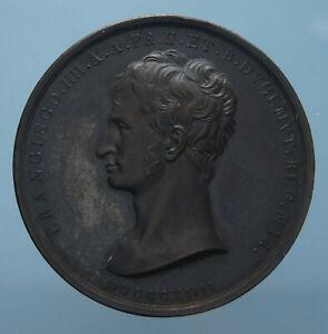 MODENA-FRANCESCO-IV-RARA-MEDAGLIA-1814-FDC