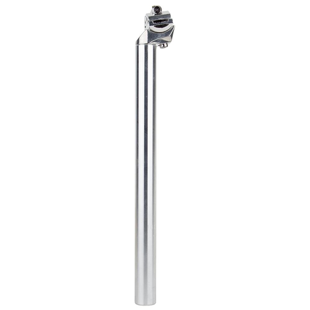 SUNLITE Alloy Pillar Seatpost 26.6mm Diam 350mm Length 0mm Offset Silver Alloy