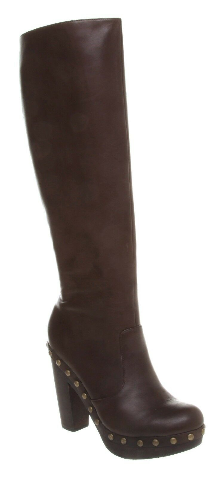 contatore genuino donna Office Office Office Eververde Knee avvio Choc Leather stivali  economico e di alta qualità