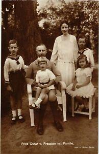 CPA-AK-Prinz-Oscar-v-Preussen-mit-Familie-GERMAN-ROYALTY-867643